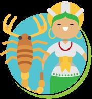 Escorpiões estados do Brasil