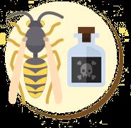 Veneno da picada da vespa